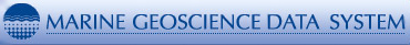 Marine GeoScience Data System Logo
