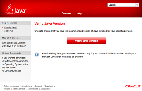how to get java 7 on mac